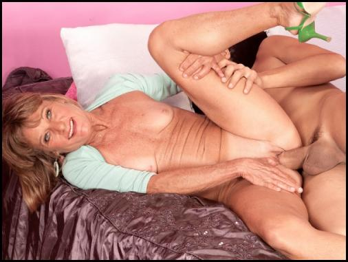 To make a long older woman movie short…she takes a big load all over her ...